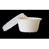 Couvercle PET pour pot à sauce bagasse